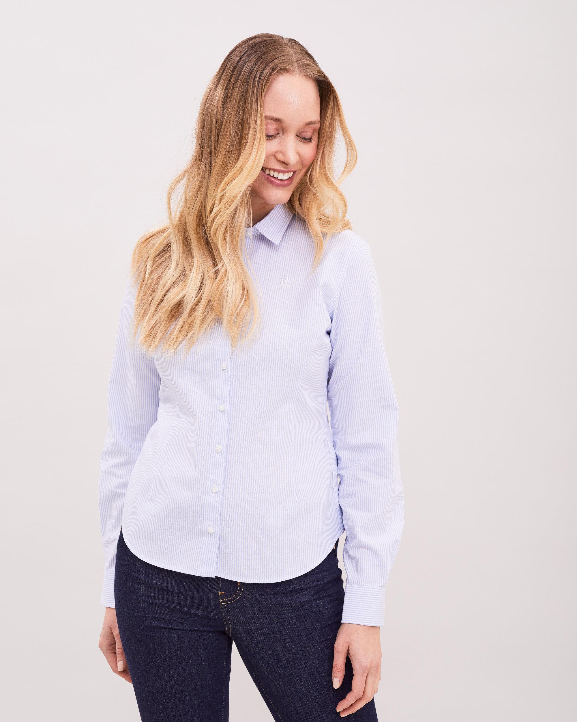 Classic Striped Oxford Shirt