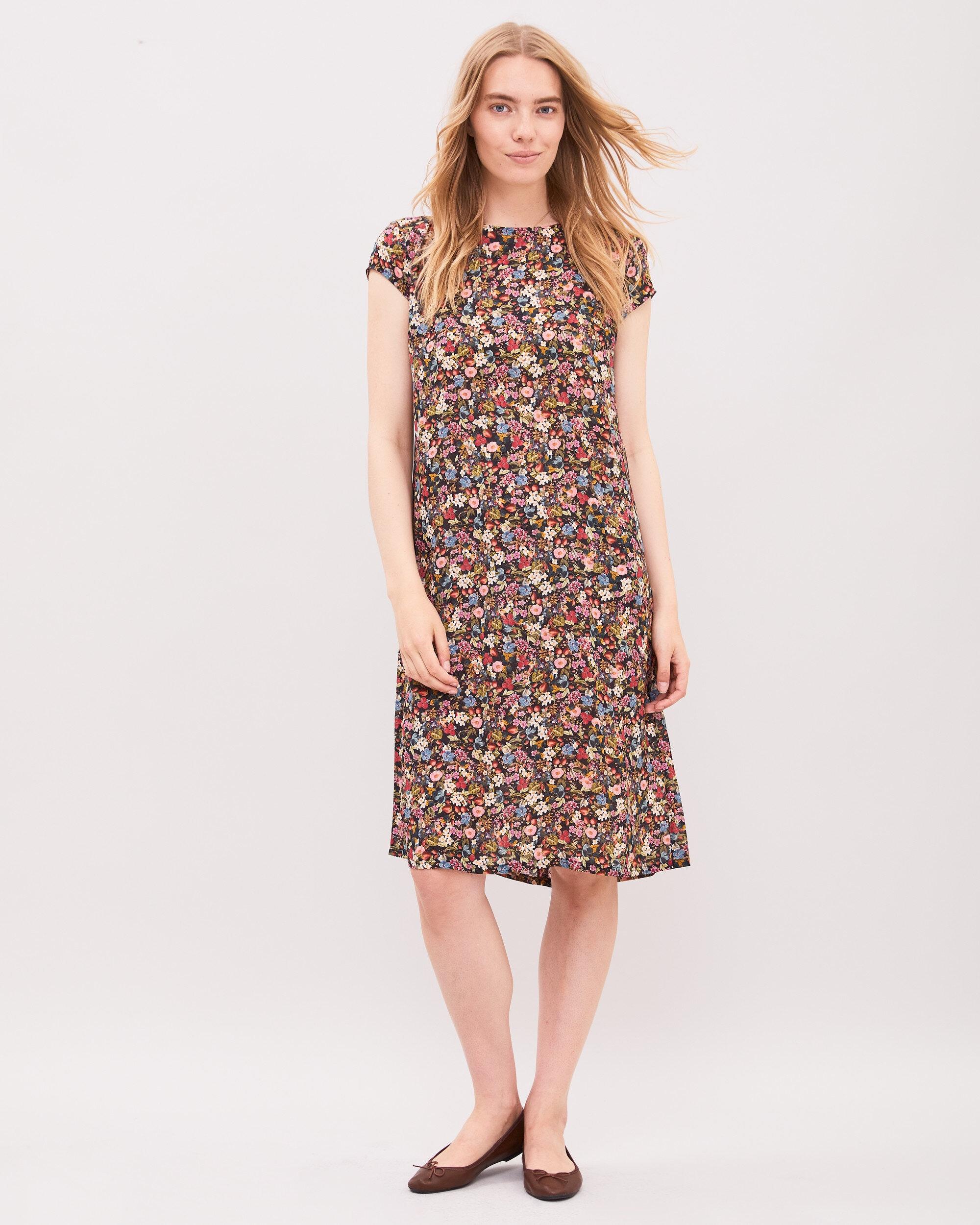 Jackie Berry Dress