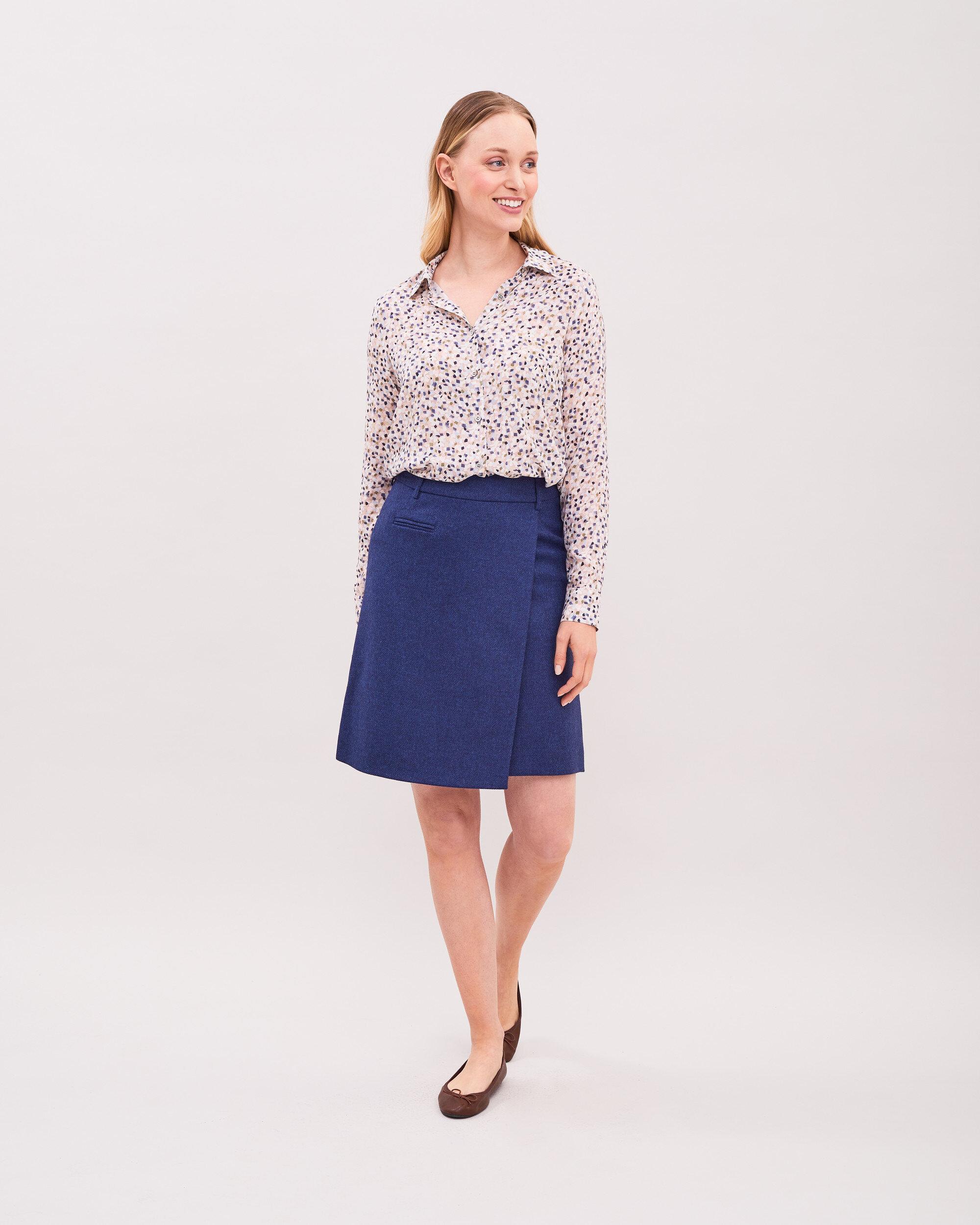 Mary Tweed Skirt