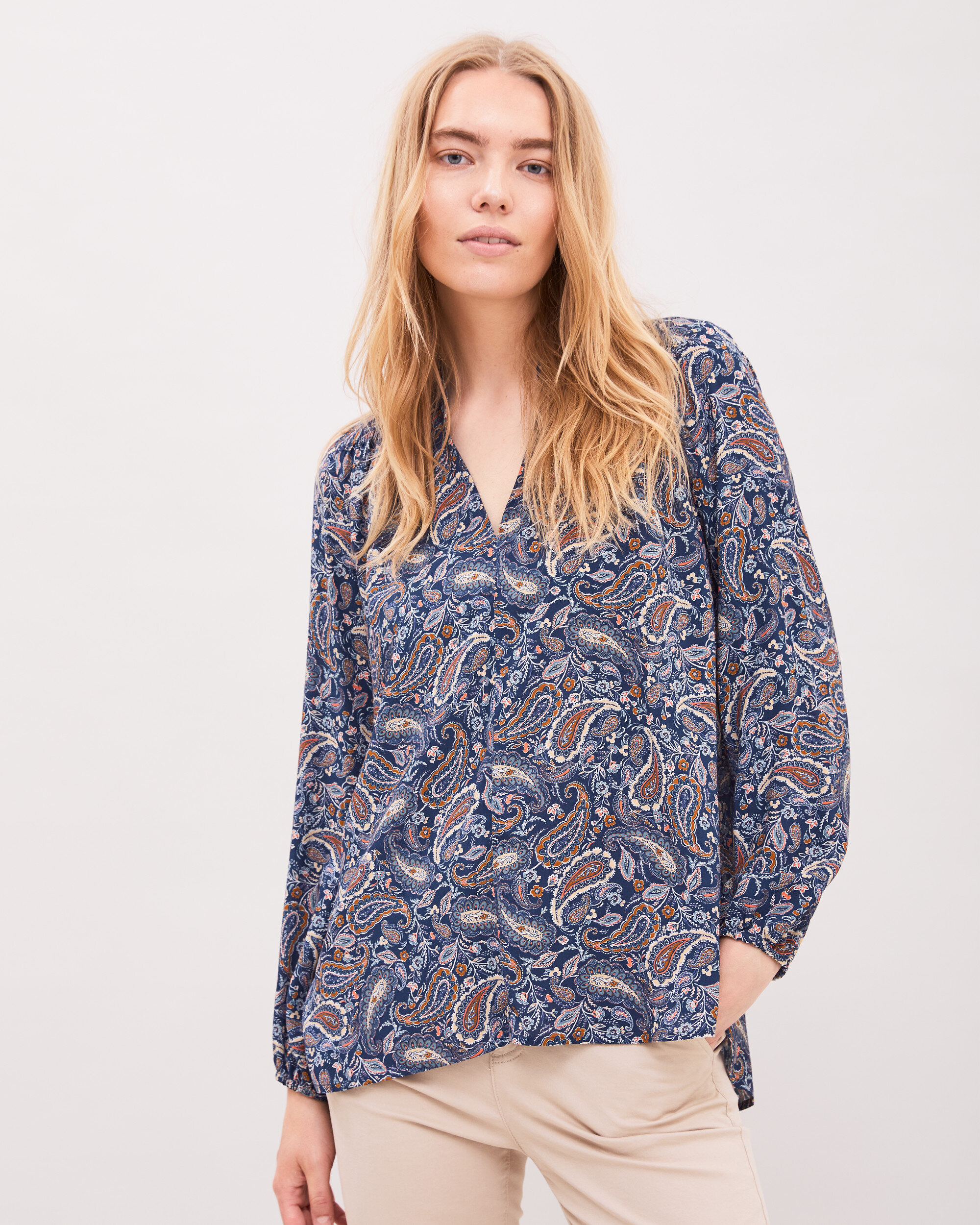 The Paisley Blouse