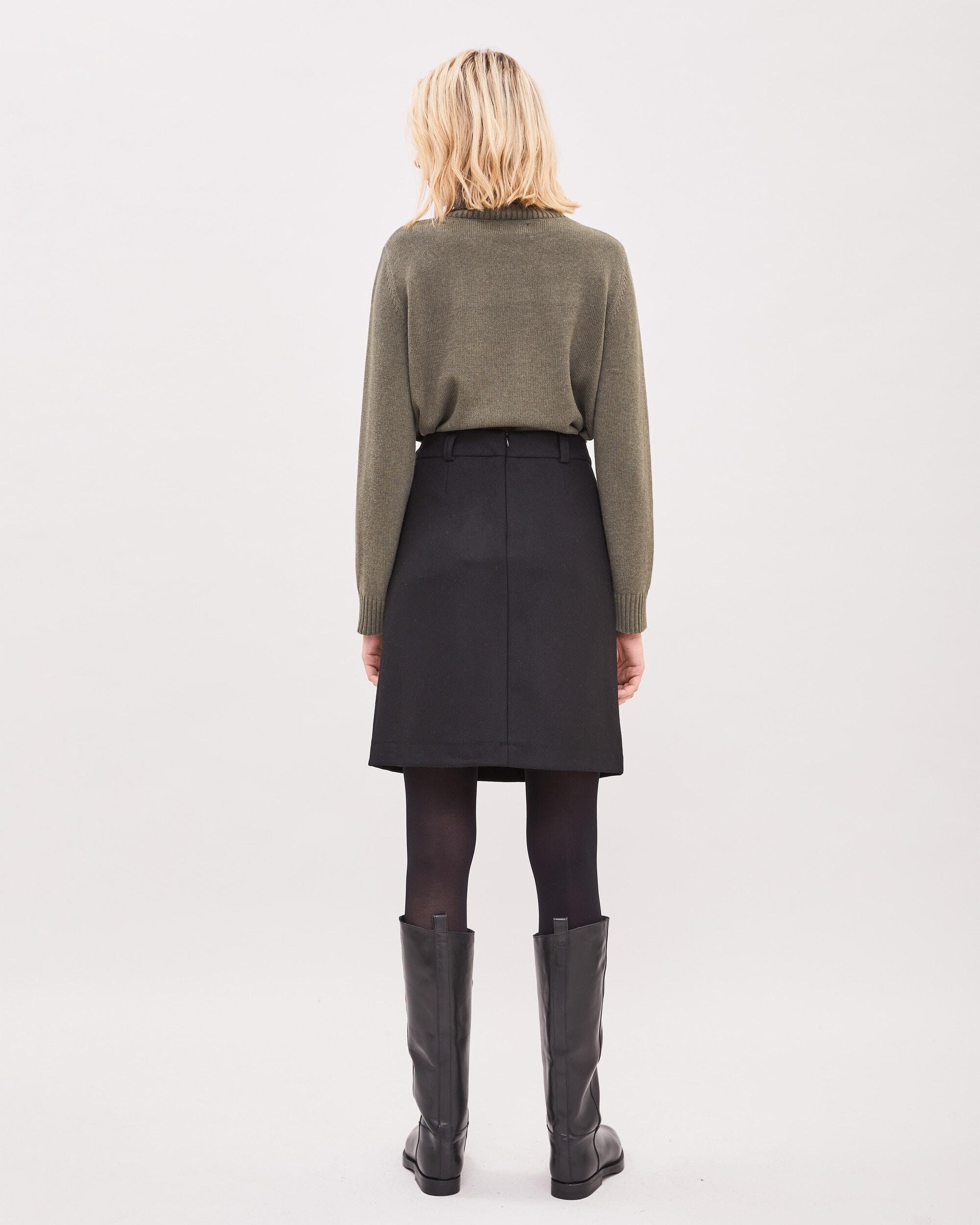 Angelica Tweed Skirt