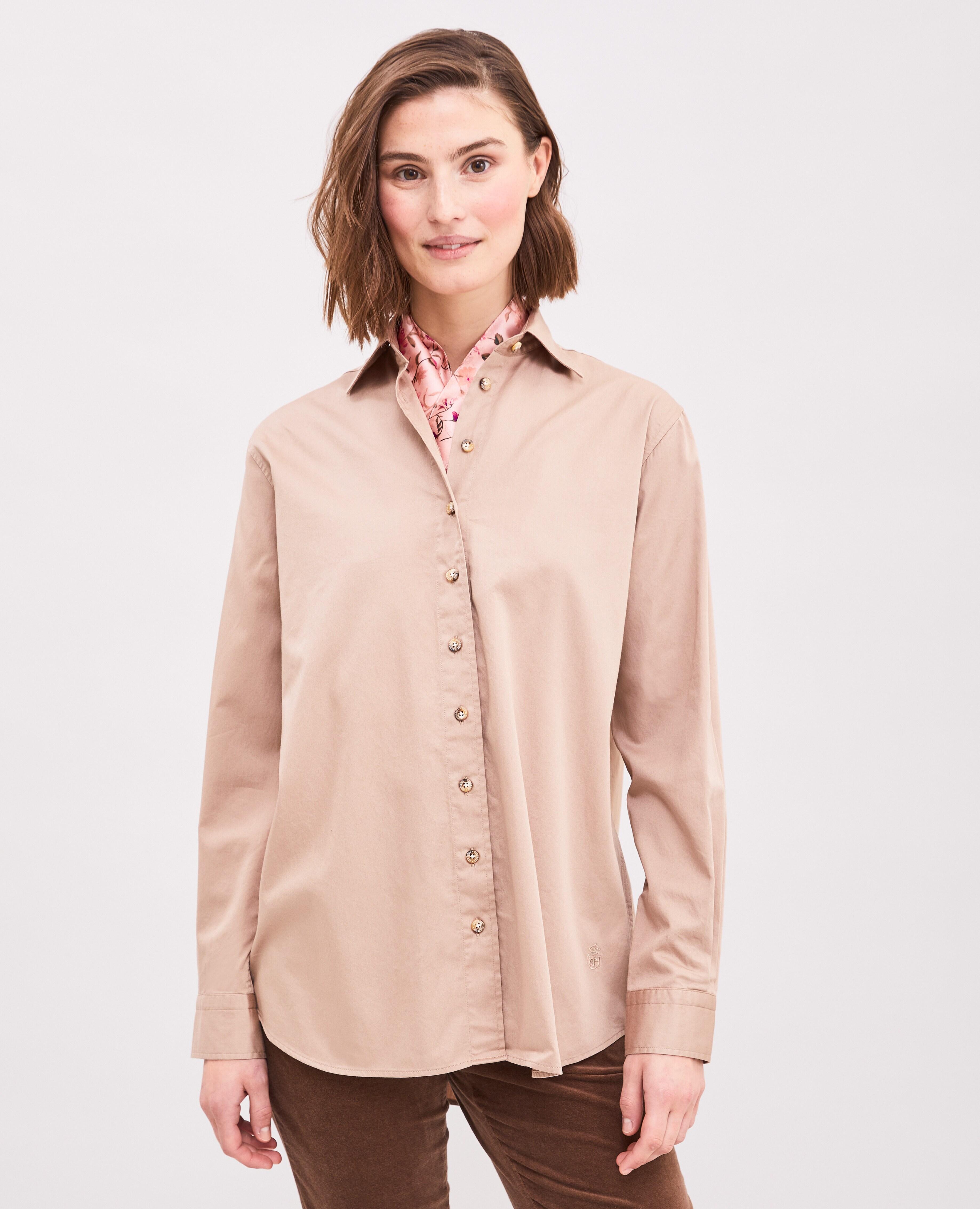 Elena Satin Shirt