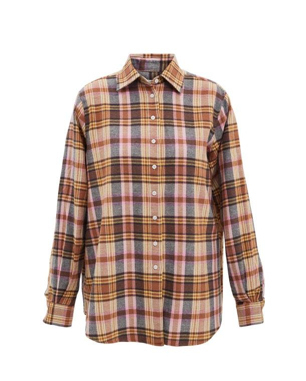 Elena Checked Shirt