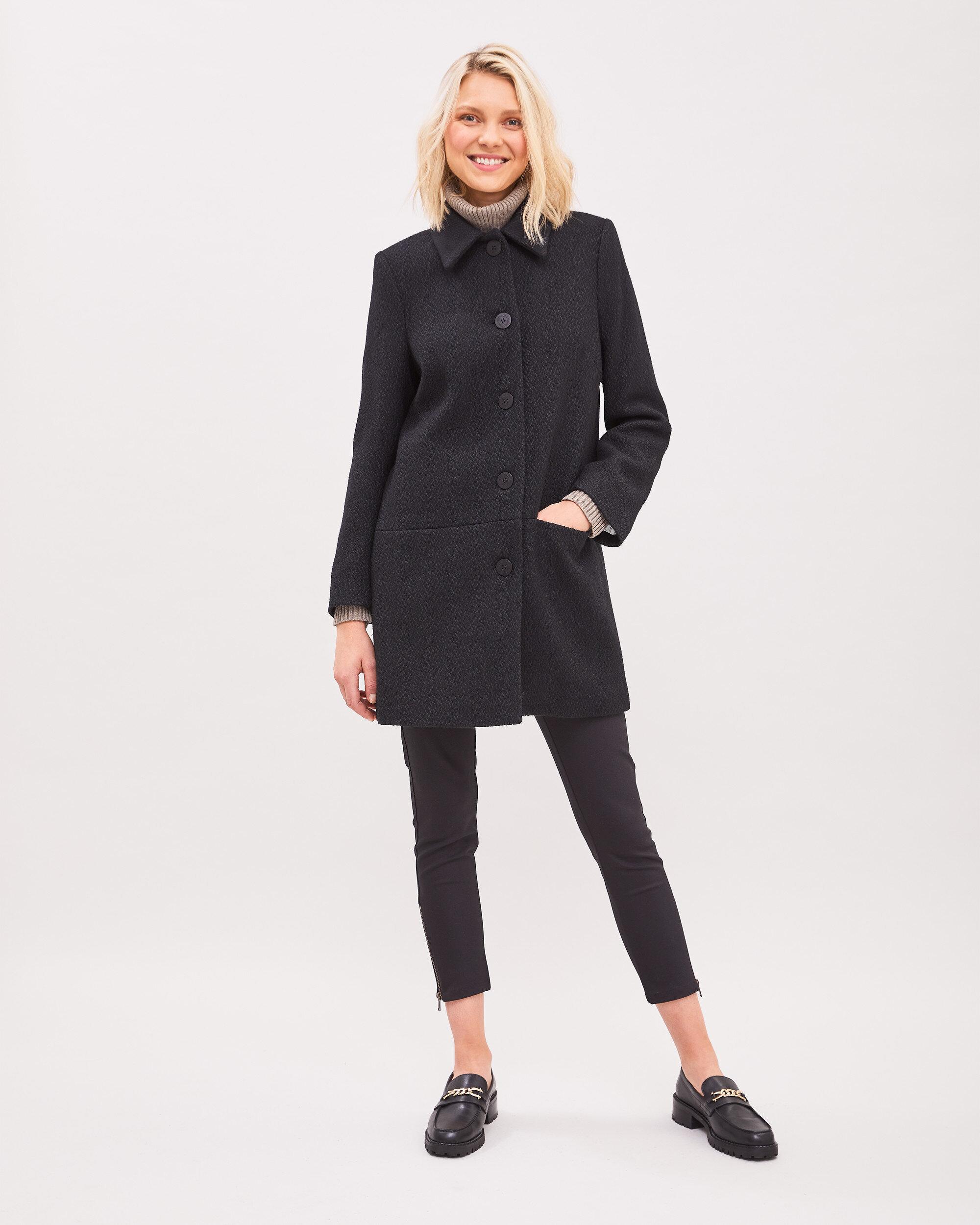 Laura Bouclé Coat